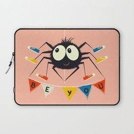 Cute Spider wearing trainers Laptop Sleeve