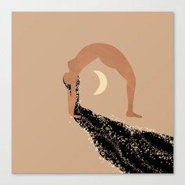 Starry Zen Canvas Print