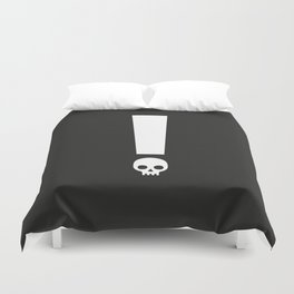 Always Proceed With Caution! Duvet Cover
