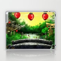 A Bridge Over Placid Waters Laptop & iPad Skin