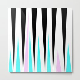 Stripesandblues Metal Print