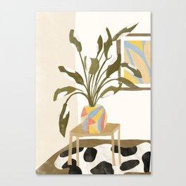 The Plant Room Canvas Print