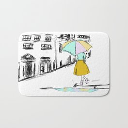 Spring Showers Bath Mat
