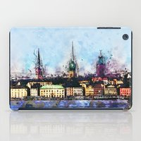stockholm iPad Cases featuring Stockholm Syndrome by Ville Munter