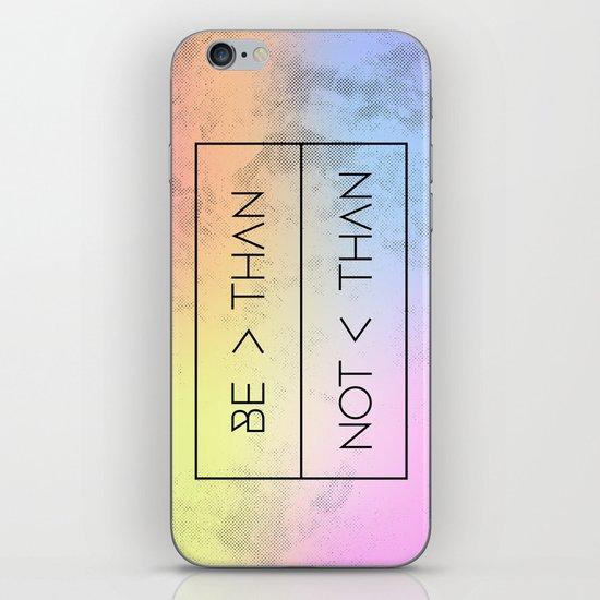 GREATER [RAINBOW] iPhone & iPod Skin