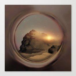 Full Circle Portal I Canvas Print