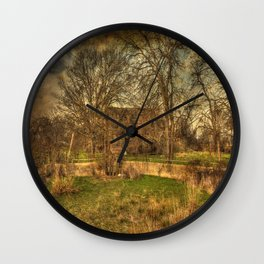 Rural Decay Wall Clock