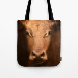 Cow 187 Tote Bag