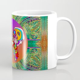 LOVE WITH A COSMIC BUTTERFLY Coffee Mug