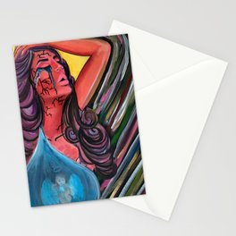 Through the cracks of my soul Stationery Cards