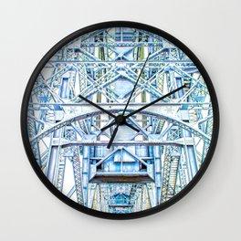 Lift Bridge Wall Clock