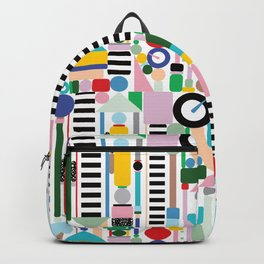 Memphis Milano Postmodern City Towers Backpack