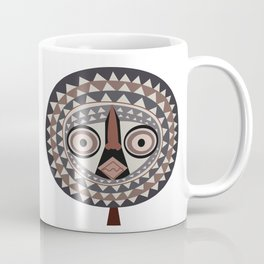 African Tribal Mask No. 2 Coffee Mug