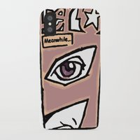 hero iPhone & iPod Cases featuring Hero by Jamie Clayton