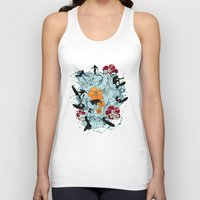 waves Tank Tops featuring Waves by Ewan Arnolda