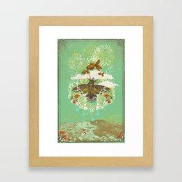EVENING PSYCHEDELIA Framed Art Print