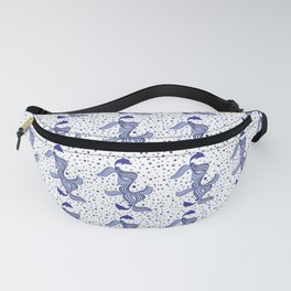 Summer wave Fanny Pack