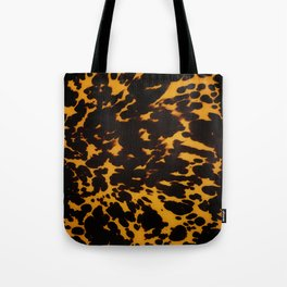 Art Deco polished Tortoise Shell Tote Bag