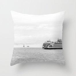 Ferry & Kate's Light Throw Pillow