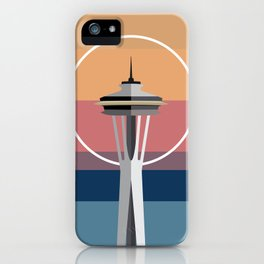 The Seattle Space Needle iPhone Case