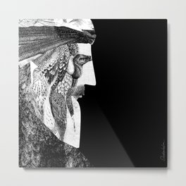 The Magi Metal Print