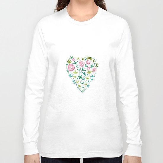 garden heart Long Sleeve T-shirt
