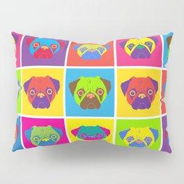 Pug Pop Art Pillow Sham