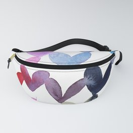 Blending hearts Fanny Pack