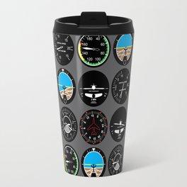 Flight Instruments Travel Mug