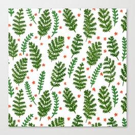 Woodland Foliage Canvas Print