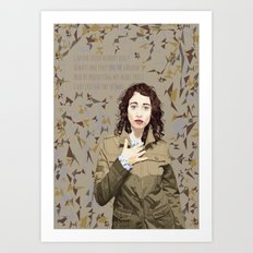Regina Spektor Art Print