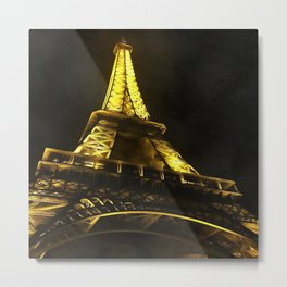 Eiffel Paris Metal Print