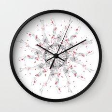 Circuitry Surgery 4 Wall Clock