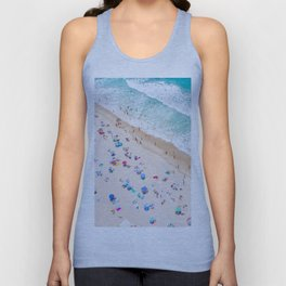Colors of Manhattan Beach California Unisex Tank Top