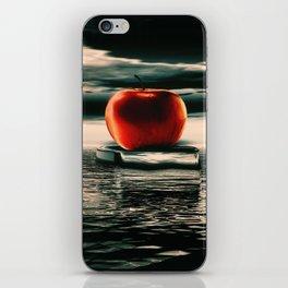 der rote Apfel iPhone Skin