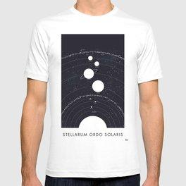 Stellarum Ordo Solaris: A map of our Solar system T-shirt