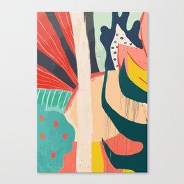 Floral Jungle Canvas Print