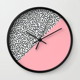 Pop Art Pattern 3 Wall Clock