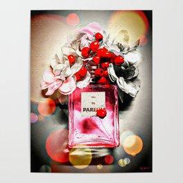Eau de Parfum Pink Poster