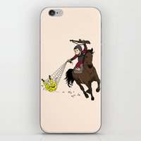 planet of the apes iPhone & iPod Skins featuring Curious George/Planet of the Apes by The Cracked Dispensary