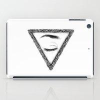 sleep iPad Cases featuring Sleep by Tom Kitchen
