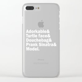 New Girl Squad. Clear iPhone Case