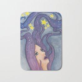 Galaxy Dreamer Bath Mat