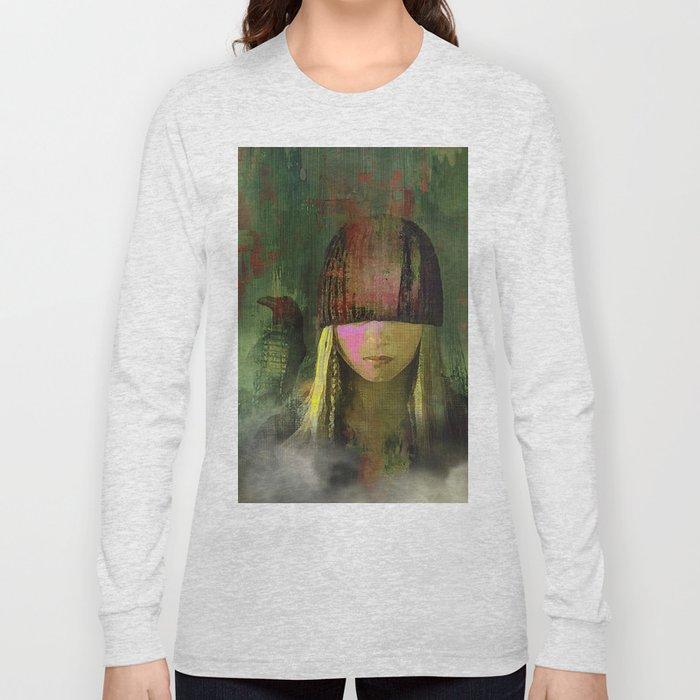 Queen crow Long Sleeve T-shirt