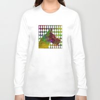 great dane Long Sleeve T-shirts featuring Great Dane Jester by Erin Conover