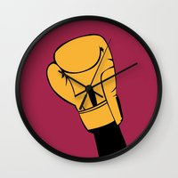 rocky Wall Clocks featuring Rocky by FilmsQuiz