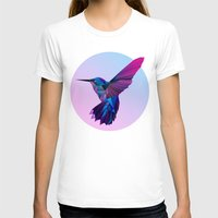 hummingbird T-shirts featuring Hummingbird by jenkydesign