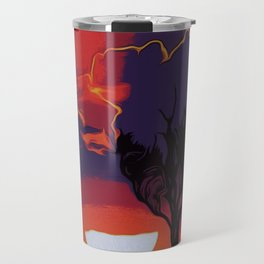 Flaming Skies Travel Mug