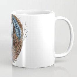 Blue Bird Nest Coffee Mug