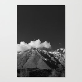 mount velino, homage to Ansel Adams, 2014 Canvas Print